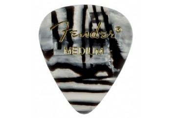 Fender 351 Shape Graphic Picks Zebra - Medium - 1 Adet