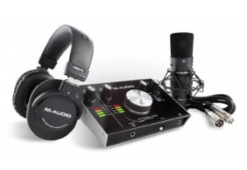M-Audio M-Track 2x2 Vocal Studio Pro - Kayıt Paketi