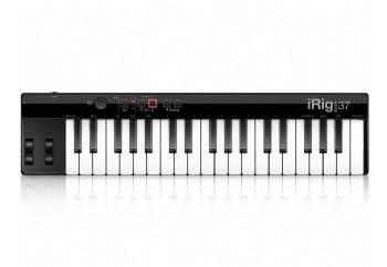 IK Multimedia iRig Keys 37 - MAC ve PC için 37 mini tuşlu USB MIDI Klavye