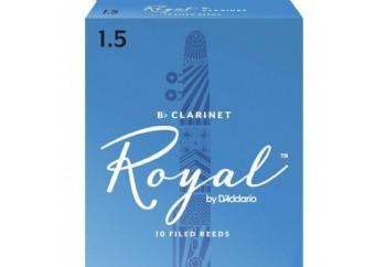 Rico Royal By DAddario Bb Clarinet 1.5 - Bb Klarnet Kamışı