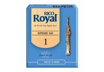 Rico Royal RIB Soprano Saxophone 1 - Soprano Saksofon Kamışı