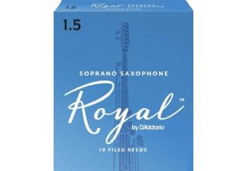 Rico Royal RIB Soprano Saxophone 1,5 - Soprano Saksofon Kamışı