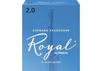 Rico Royal RIB Soprano Saxophone 2 - Soprano Saksofon Kamışı