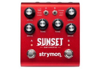 Strymon Sunset Dual Overdrive - Overdrive Pedalı