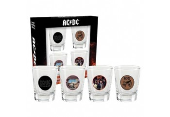AC/DC Shotglasses Set of 4 - Shotglasses