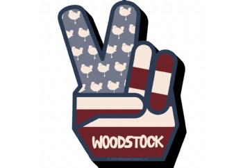 Woodstock Peace - Chunky Magnet - Magnet