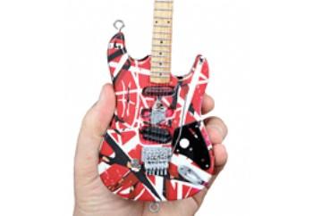 Frankenstein Miniature Replica Guitar Official EVH Merchandise