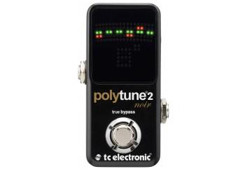 tc electronic PolyTune 2 Noir - Polifonik Akort Aleti