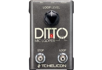 TC-Helicon Ditto Mic Looper - Loop Pedalı