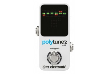 tc electronic Polytune 2 Mini - Polifonik Akort Aleti