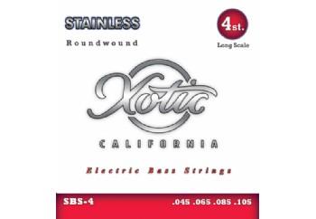 Xotic SBS-4 Stainless Steel - Bas Gitar Teli 045-0105