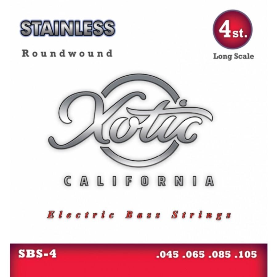 Xotic SBS-4 Stainless Steel