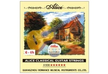 Alice Klasik Gitar Tek Tel Kalın Mi (E)