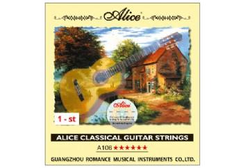 Alice Klasik Gitar Tek Tel İnce Mi (E)