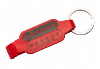Seymour Duncan Beverage Opener Key Ring Kırmızı - Şişe Açacağı Anahtarlık
