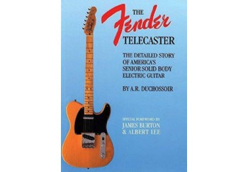 Hal Leonard The Fender Telecaster Book Kitap - A.R. Duchossoir
