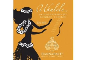 Hannabach 232MT Ukulele Strings Concert Tuning - Ukulele Teli