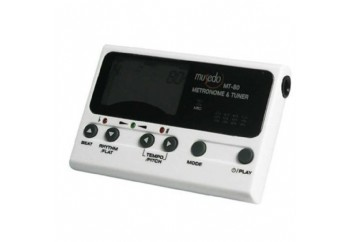 Musedo MT-80 Chromatic Metro-Tuner Beyaz - Metronom & Akort Aleti