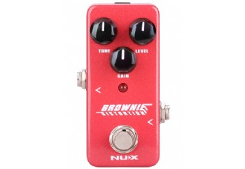 Nux Mini Core Brownie Distortion - Distortion Pedalı