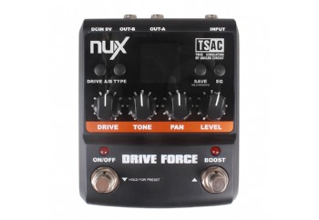 NUX Drive Force Modeling Stomp Simulator