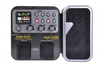 Nux MG100 Multi-Effects Processor Guitar Effect Pedal - Gitar Prosesör