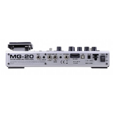 Nux MG-20 Electric Modeling Guitar Multi-Effects