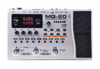 Nux MG-20 Electric Modeling Guitar Multi-Effects - Gitar Prosesörü