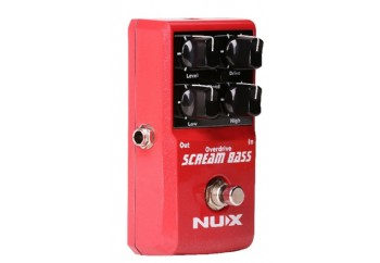 Nux Scream Bass - Bas Overdrive Pedalı