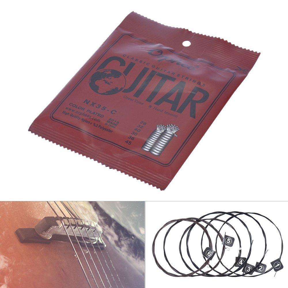 orphee nx35 c nylon classical guitar strings hard. Black Bedroom Furniture Sets. Home Design Ideas