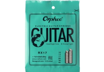 Orphee RX17 Electric Guitar Strings Takım Tel - Elektro Gitar Teli 010-046