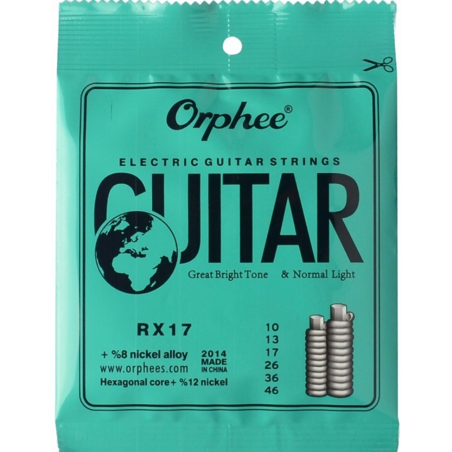 Orphee RX17 Electric Guitar Strings