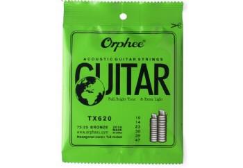 Orphee TX620 Acoustic Guitar Strings - Akustik Gitar Teli 010