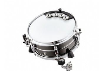 Meinl Percussion BBTA1-BK Backbeat Tambourine