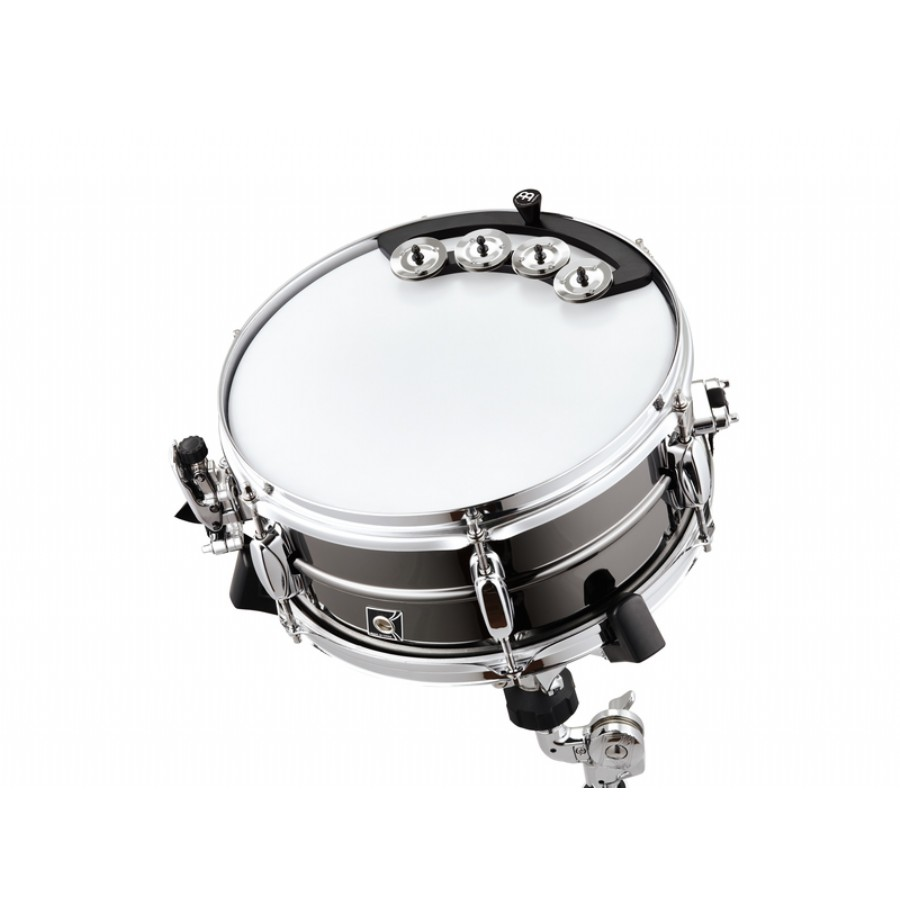 Meinl Percussion BBTA1-BK Backbeat Tambourine