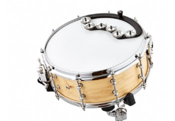Meinl Percussion BBTA2-BK Backbeat Tambourine - Trampet Tefi
