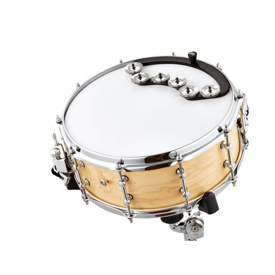 Meinl Percussion BBTA2-BK Backbeat Tambourine
