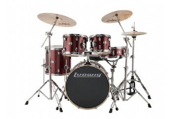 Ludwig Element Evolution Wine Red - Akustik Davul Seti