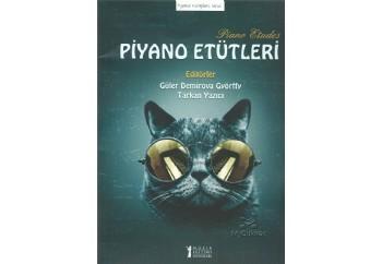 Piyano Etütleri Kitap - Güler Demirova Györff - Tarkan Yazıcı