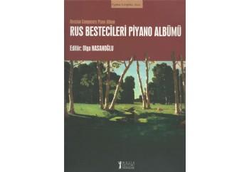 Rus Bestecileri Piyano Albümü Kitap - Olga Hasanoğlu