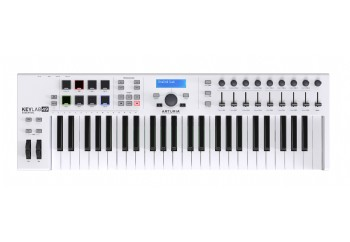 Arturia KeyLab Essential 49 Keyboard Controller White - 49 tuş keyboard/controller + Soft Synth
