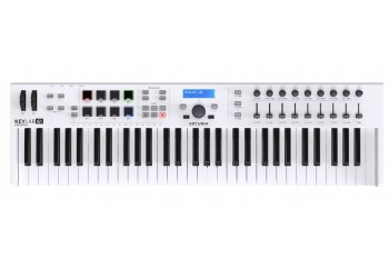 Arturia KeyLab Essential 61 Keyboard Controller White - 61 tuş keyboard/controller + Soft Synth