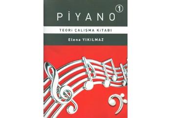 Piyano-1 Teori Çalışma Kitabı Kitap - Elena Yıkılmaz
