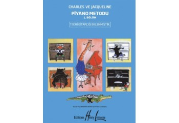 Charles ve Jacqueline Piyano Metodu 1. Bölüm Kitap - Pouillard-Herve