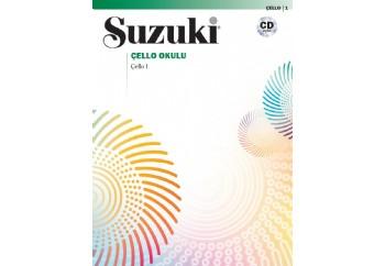 Suzuki Çello Okulu - Çello 1 Kitap - Çello Metodu