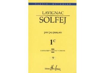 Lavignac Solfej 1C Şan Çalışmaları Kitap - Henry Lemoine