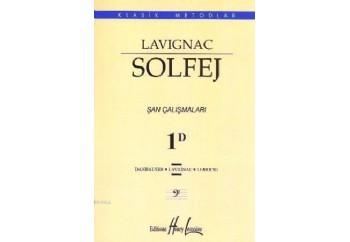 Lavignac Solfej 1D Şan Çalışmaları Kitap - Henry Lemoine