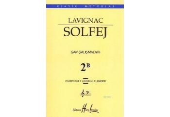 Lavignac Solfej 2B Şan Çalışmaları Kitap - Henry Lemoine