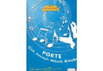 Porte Çok Amaçlı Müzik Kitabı; 5-8 Sınıflar Arası Kitap - Müzik Defteri