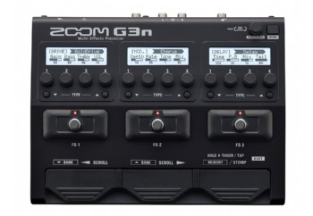 Zoom G3n Multi-Effects Processor - Gitar Prosesör