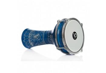 Vatan 112 Mavi - Erzincan İşlemeli Alüminyum Darbuka (16.5cm)